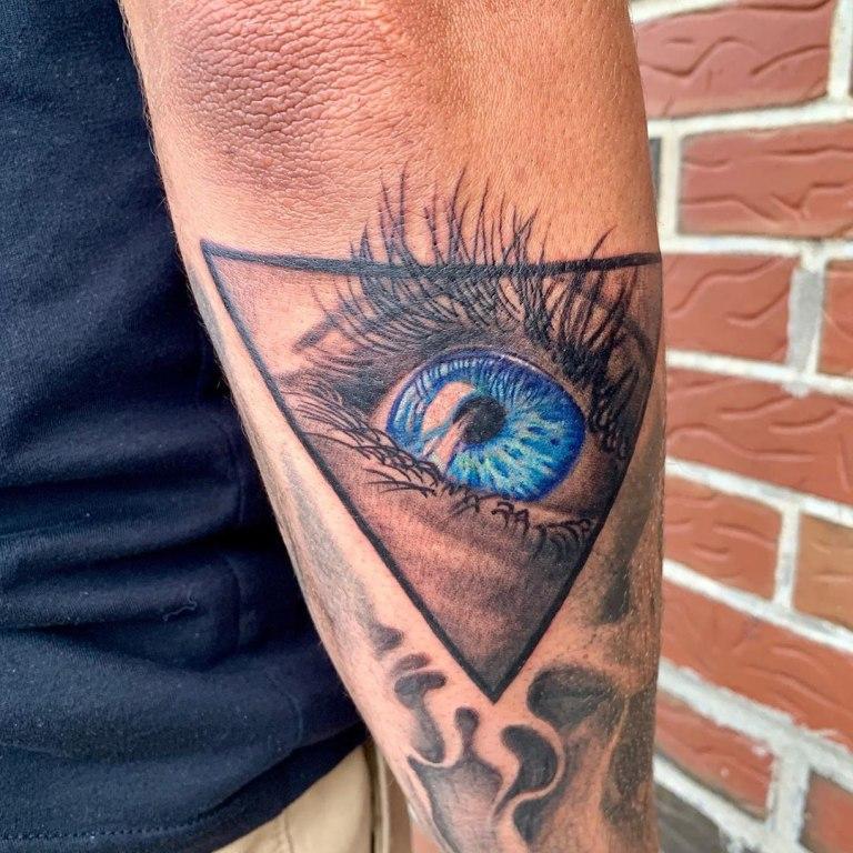 тату масонский глаз
