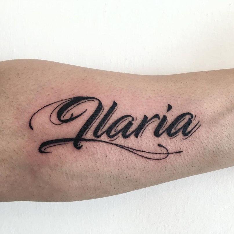 шрифты тату