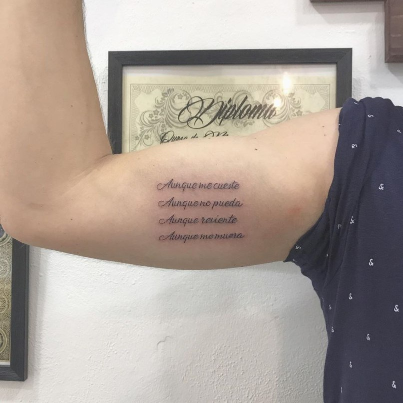 красивый шрифт для тату надписи