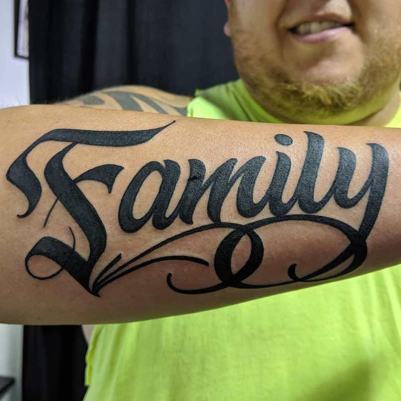 подобрать шрифт для тату