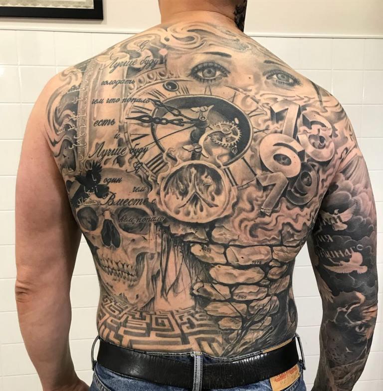 цены татуировок по размерам