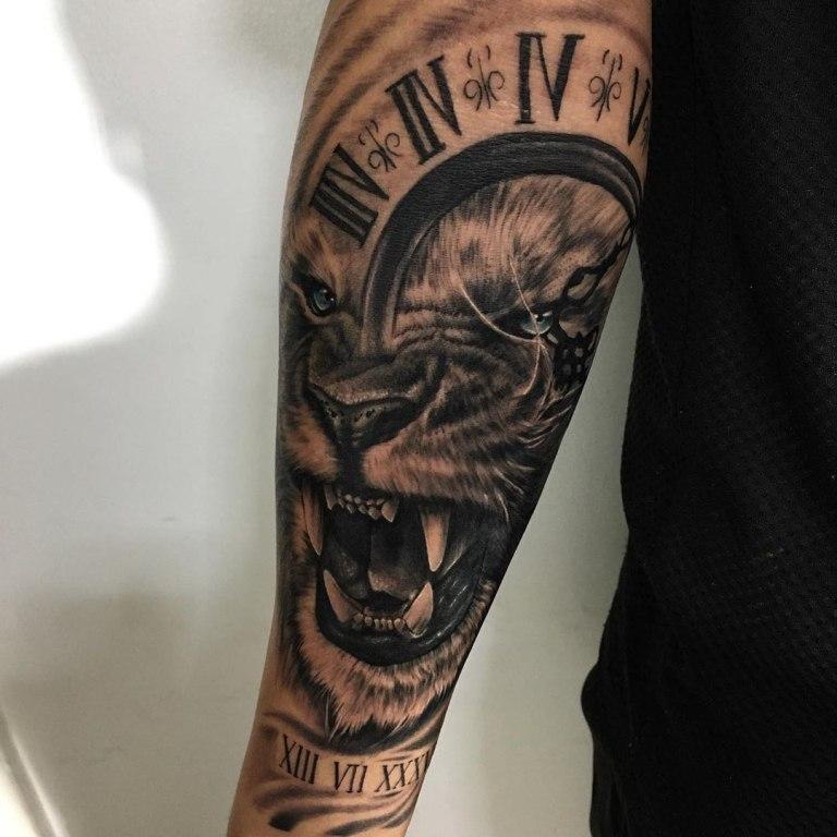 татуировки часов