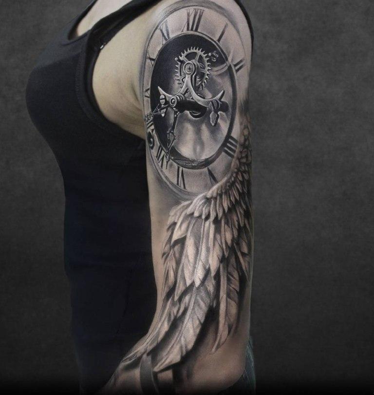 татуировка время