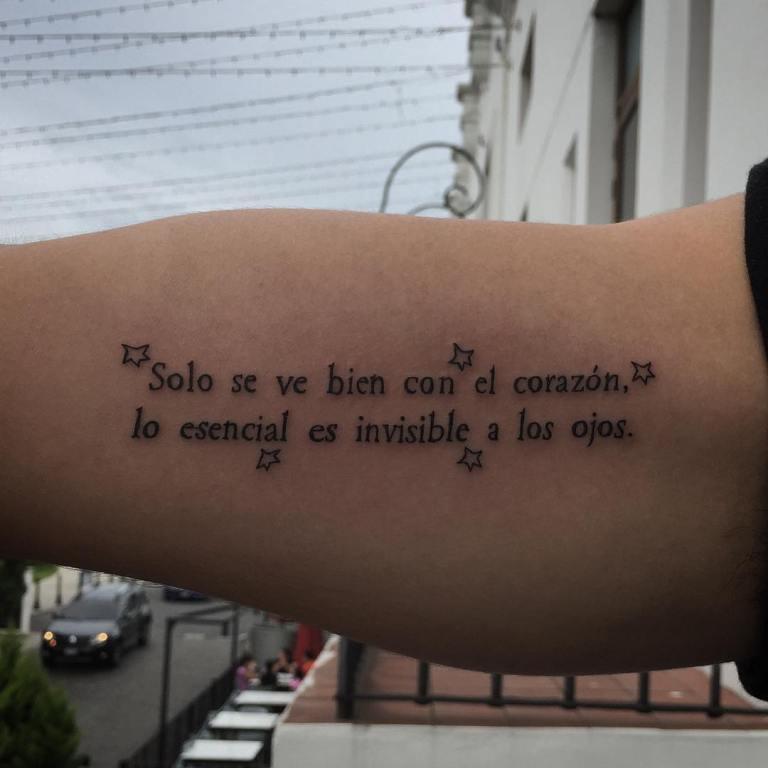 тату надписи на испанском с переводом