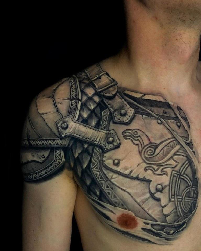 татуировка сила воли и духа