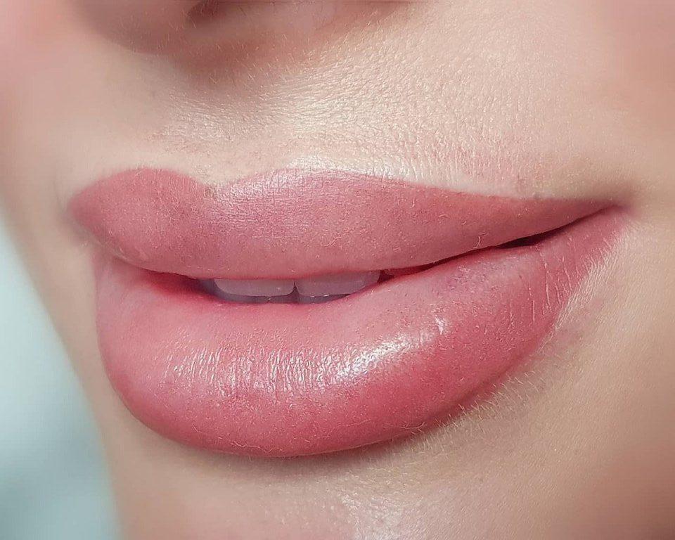 фото татуаж губ