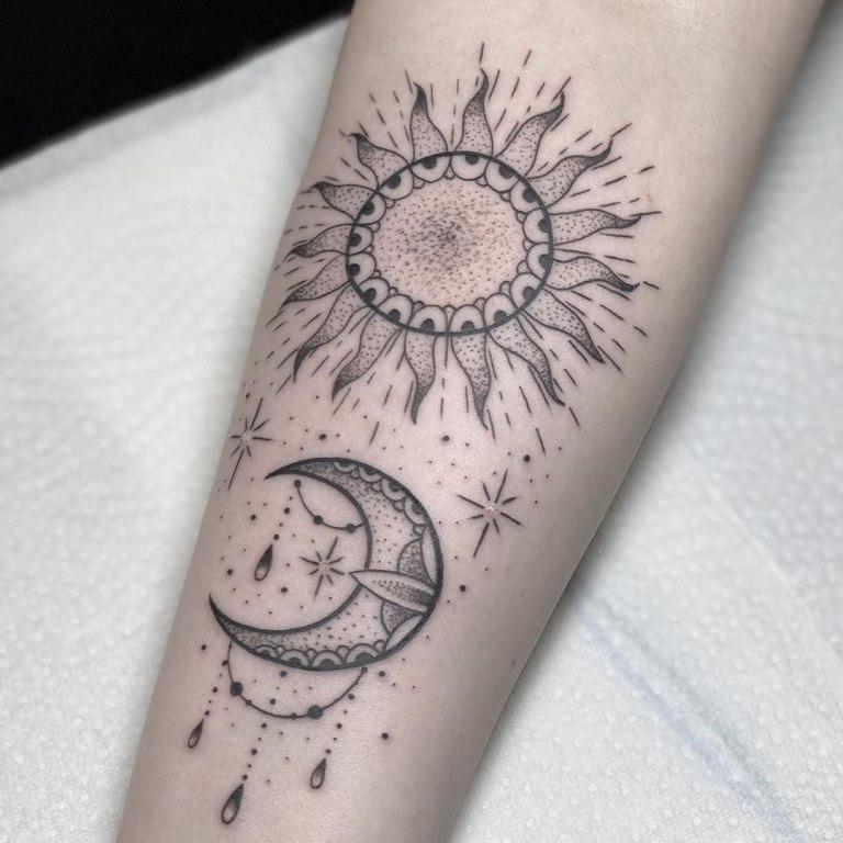 татуировки дотворк