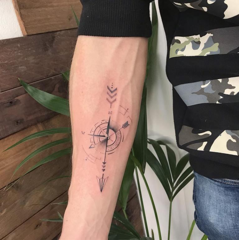 роза ветров тату значение на зоне
