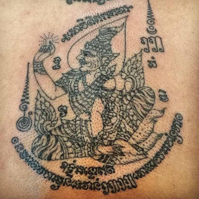 тайская татуировка