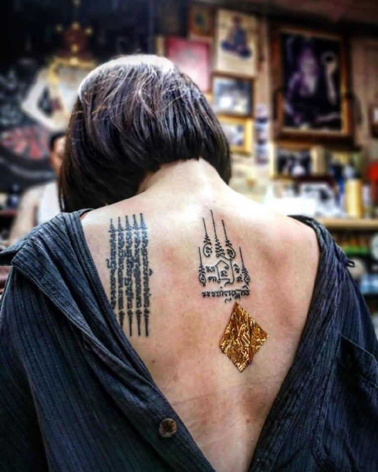 кто картинки священные буддийские тату например