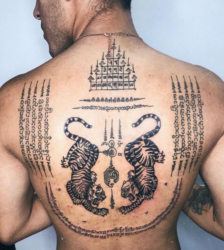 татуировки сак янт