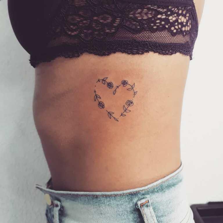 татуировки про любовь