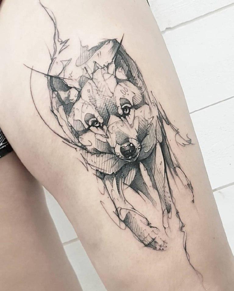 графические тату