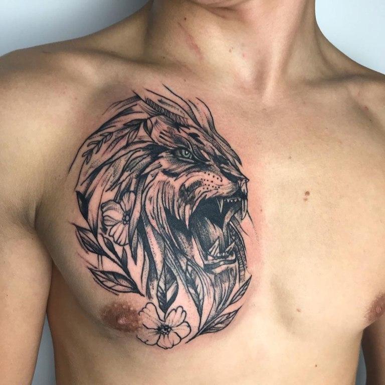 эскизы татуировок в стиле графика