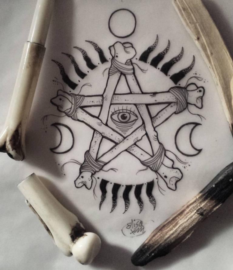 что означает тату пентаграмма