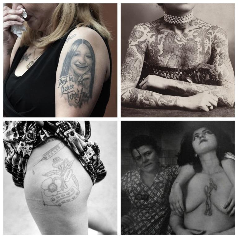 женские тюремные татуировки и их значение фото
