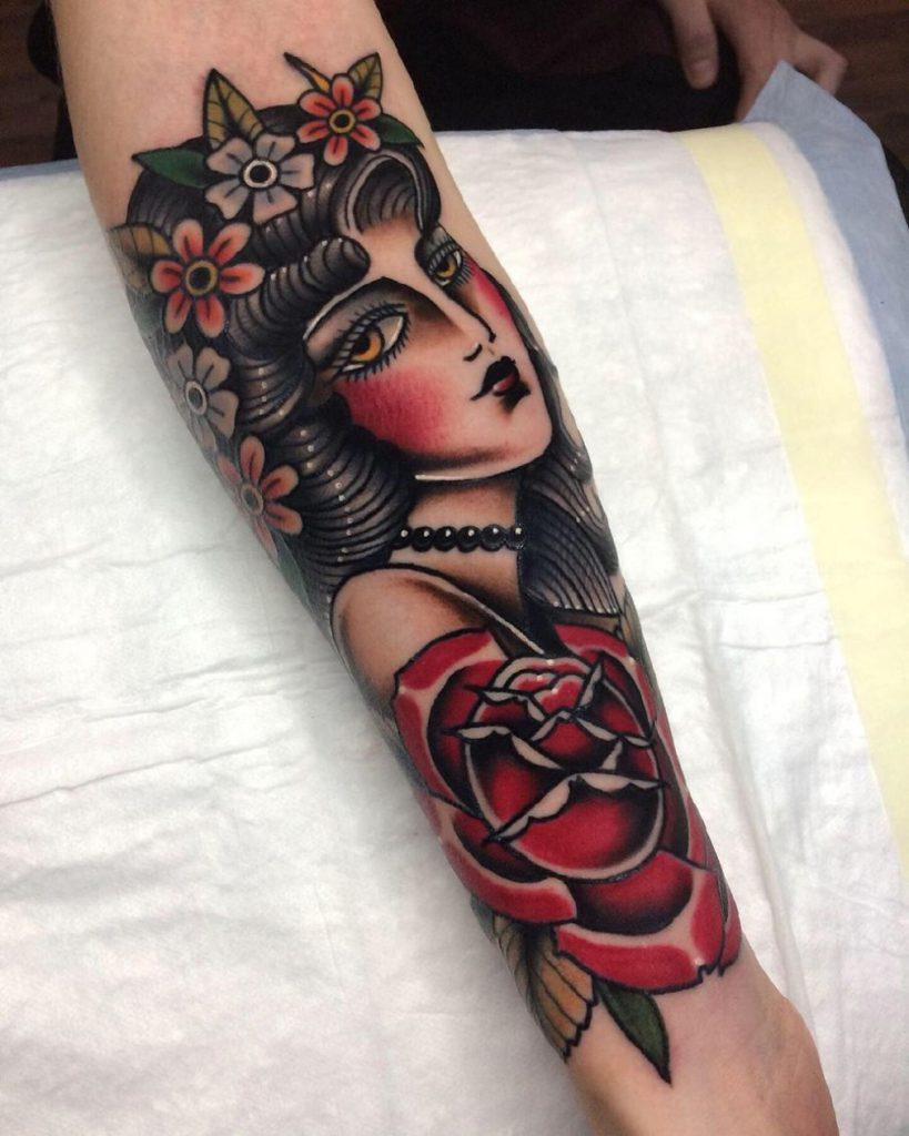 самые красивые женские татуировки