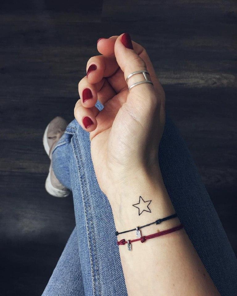 несложные татуировки