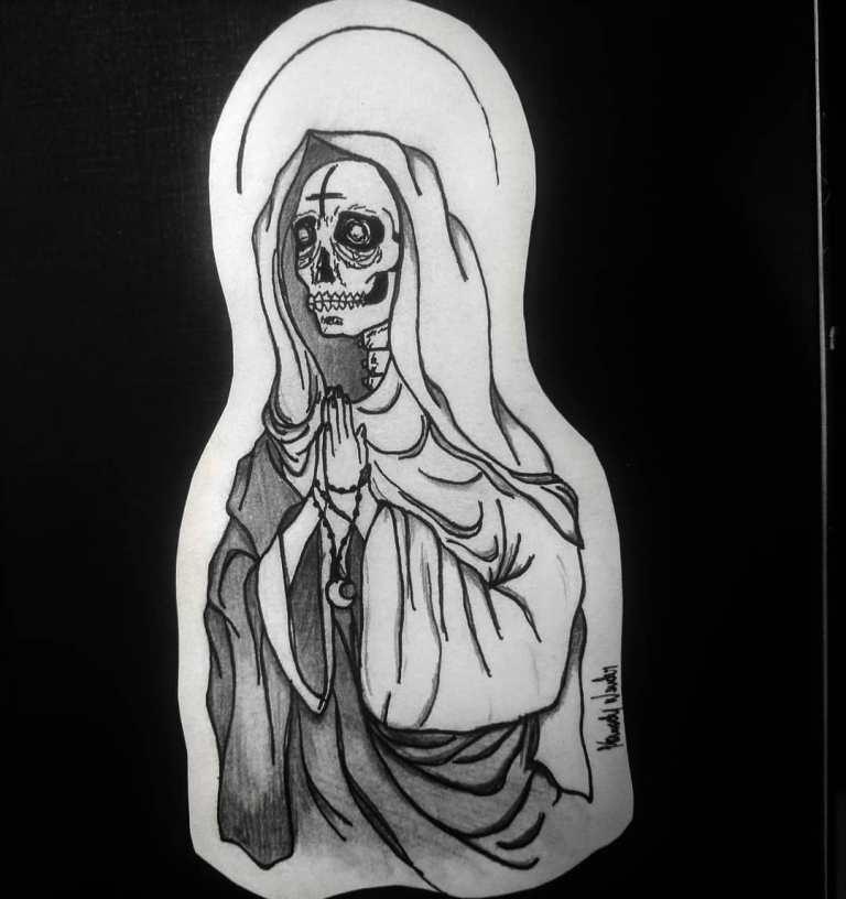 тату эскизы смерти
