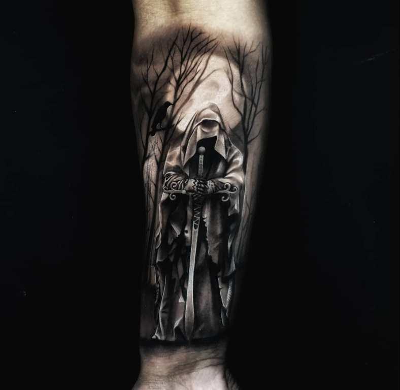 татуировки смерти