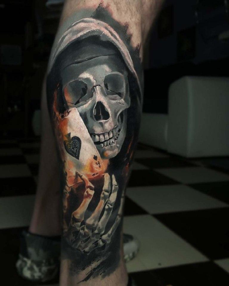 татуировки смерть