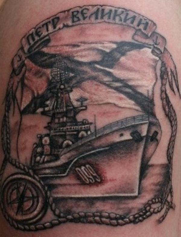 татуировки морской пехоты