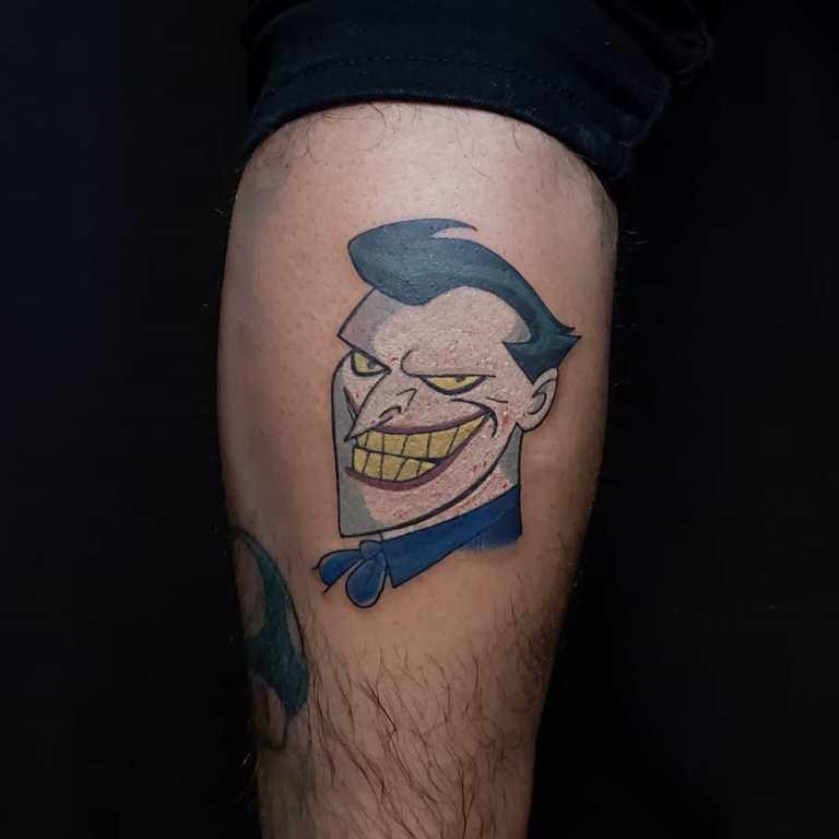 джокер татуировки