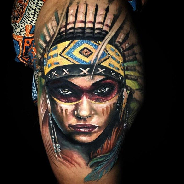 индейцы тату