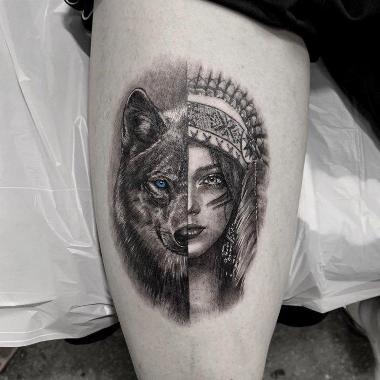 индейские татуировки