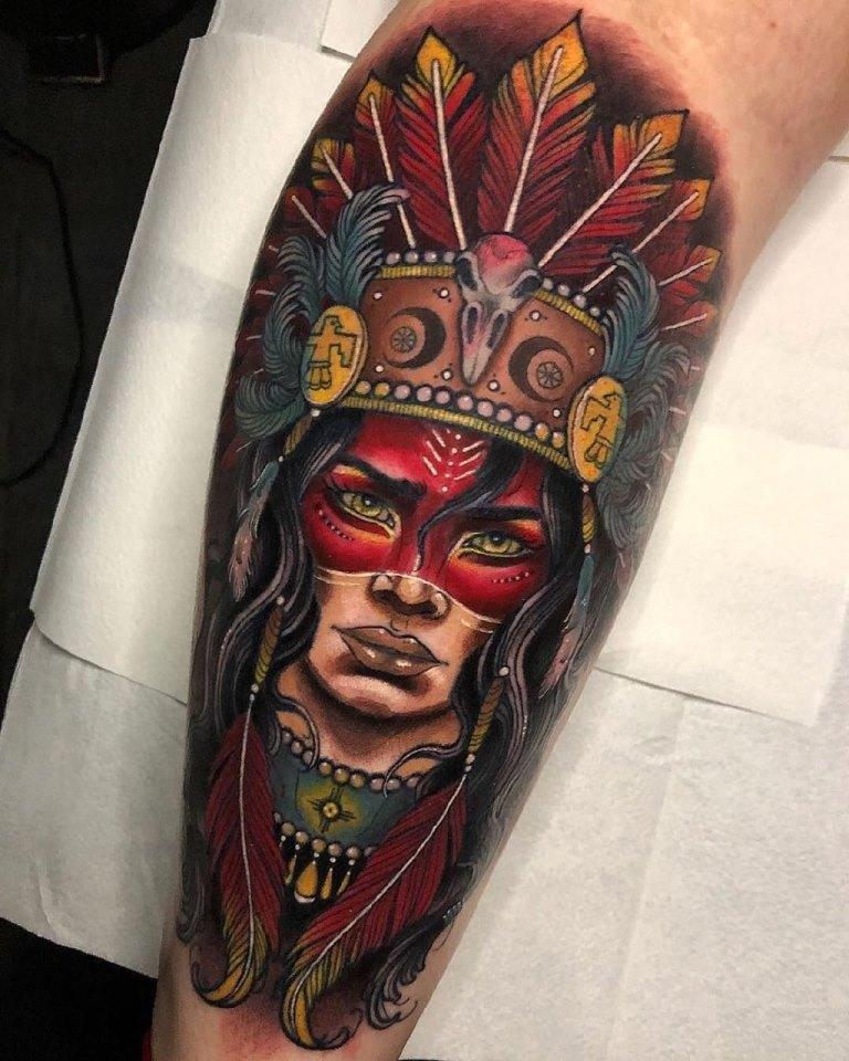 индейские тату