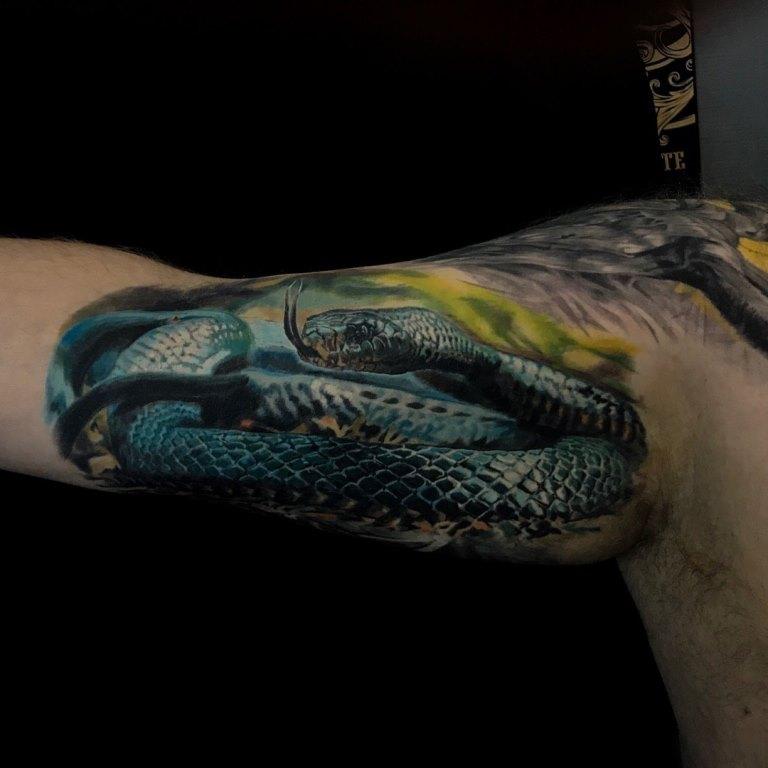 татуировки кобры
