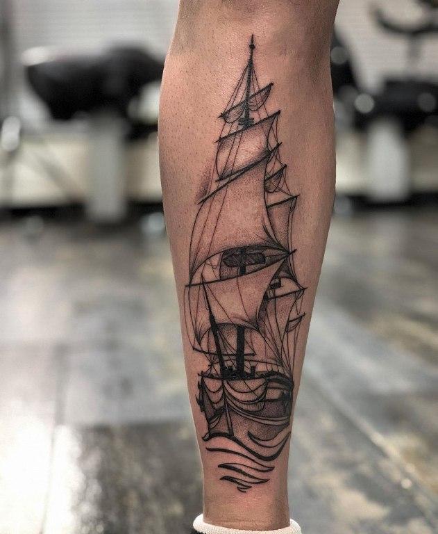 корабль тату значение