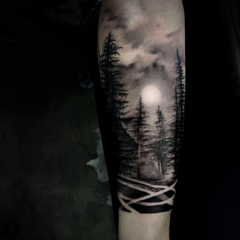 татуировки на икру мужские