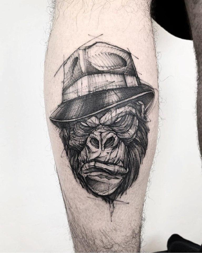 эскизы татуировок для мужчин на икру