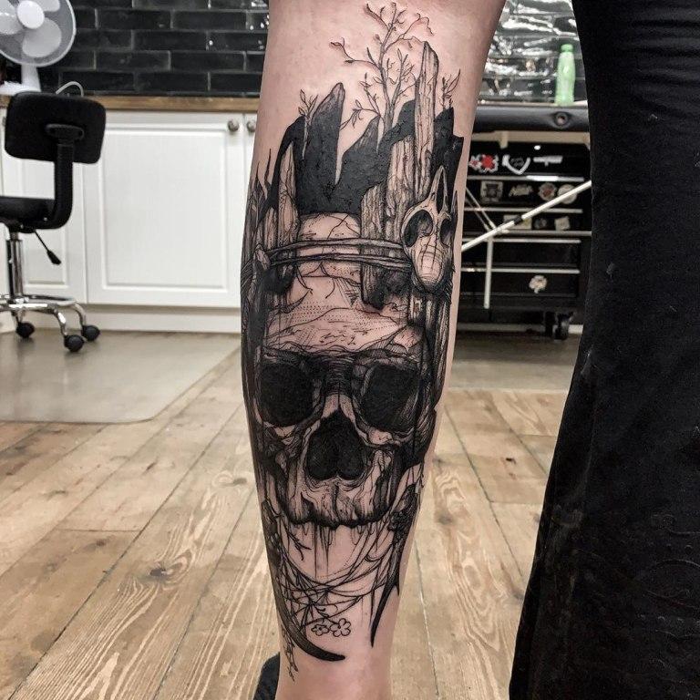 татуировки на икру