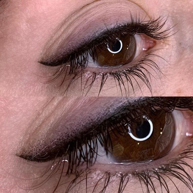 перманентный макияж глаз стрелки
