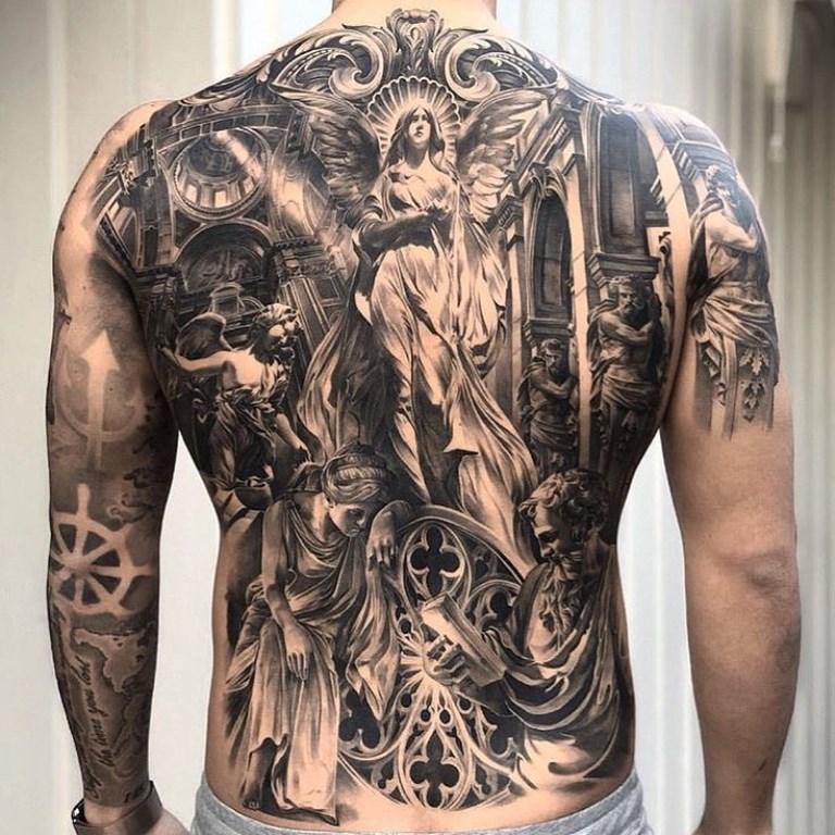 христианские татуировки для мужчин