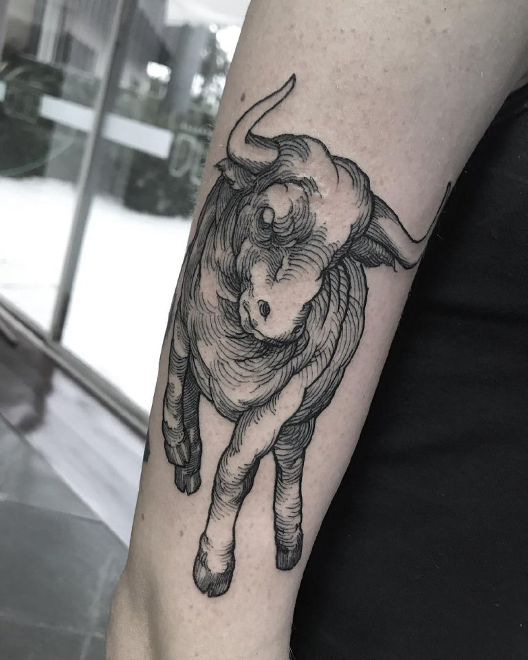 тату быков