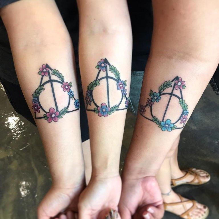 татуировка дары смерти