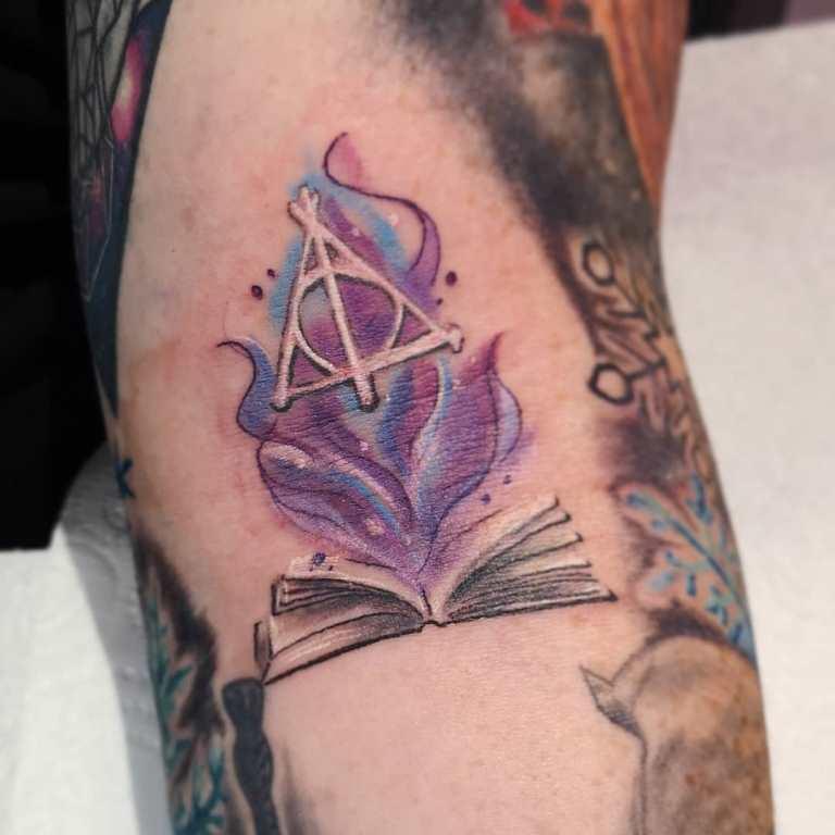 татуировки гарри поттер