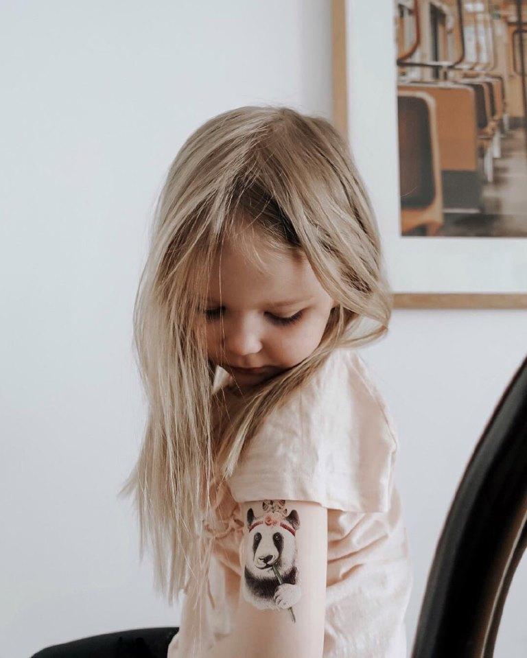 татуировки детские
