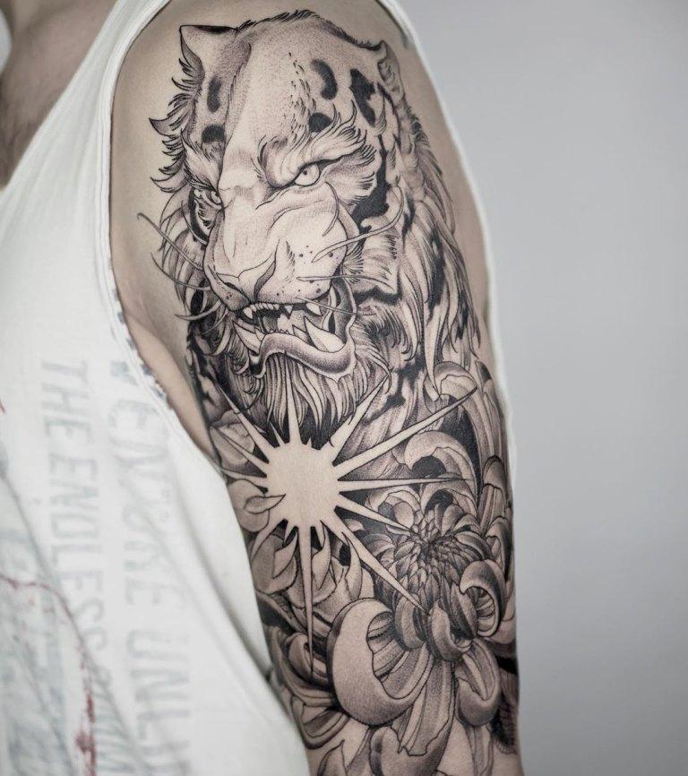 прикольные татуировки для мужчин