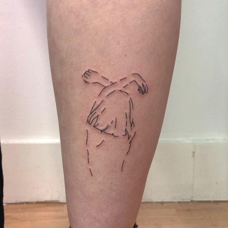 черные татуировки