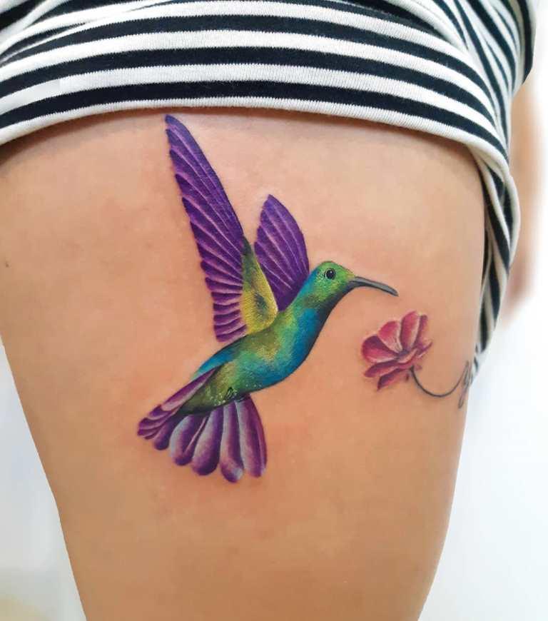 татуировка колибри значение