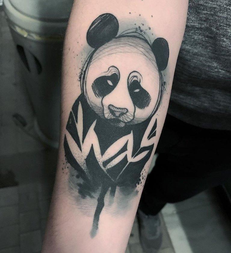 эскизы панда