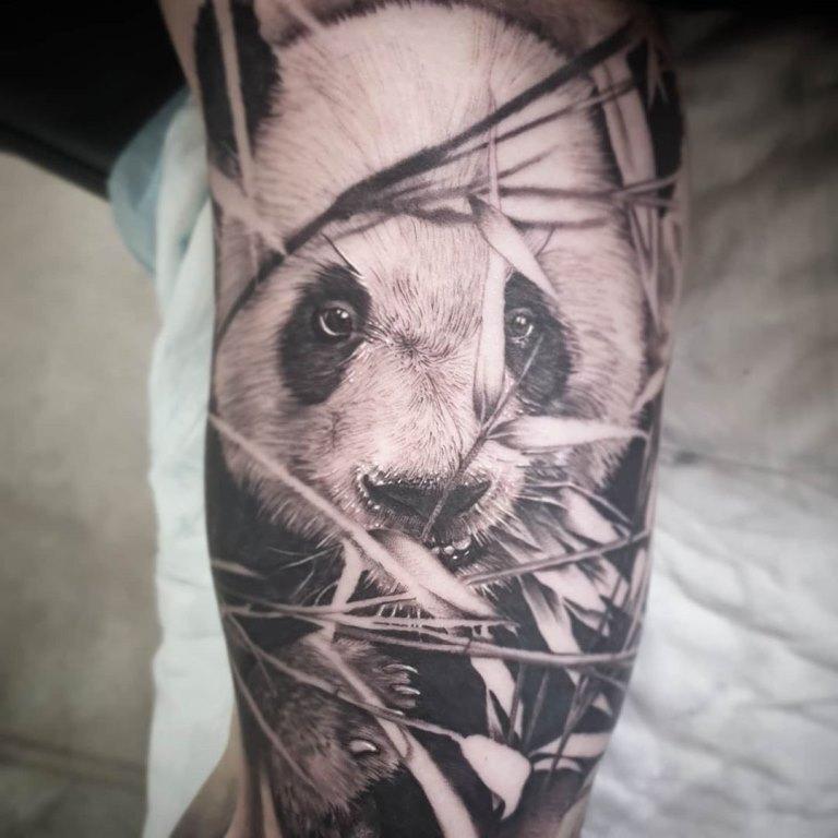 тату панда значение для мужчин