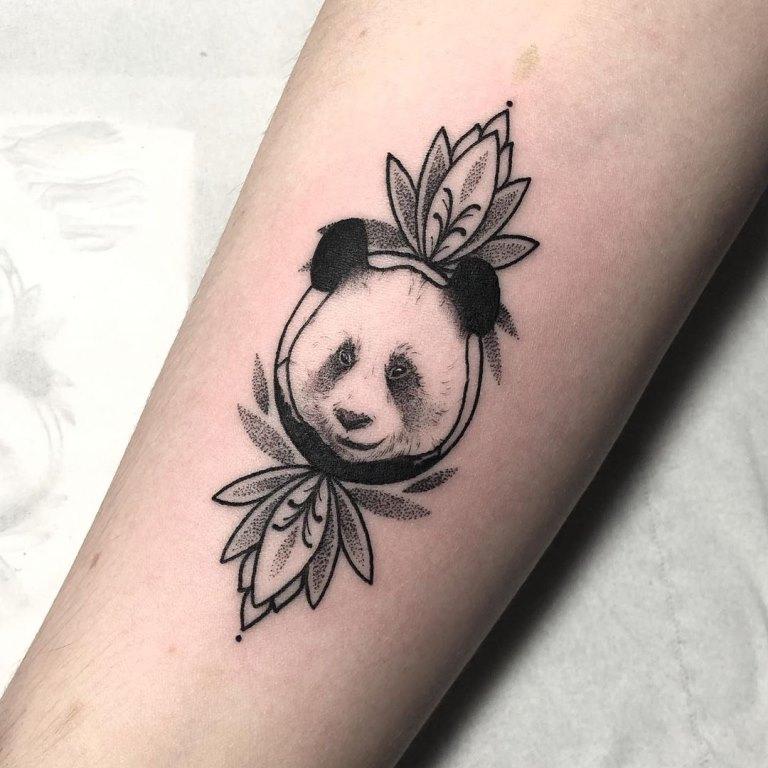 тату панды