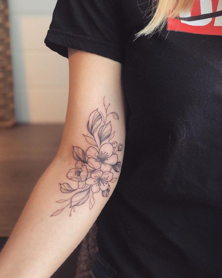 татуировки сакура