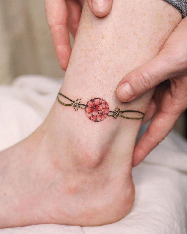 сакура татуировка