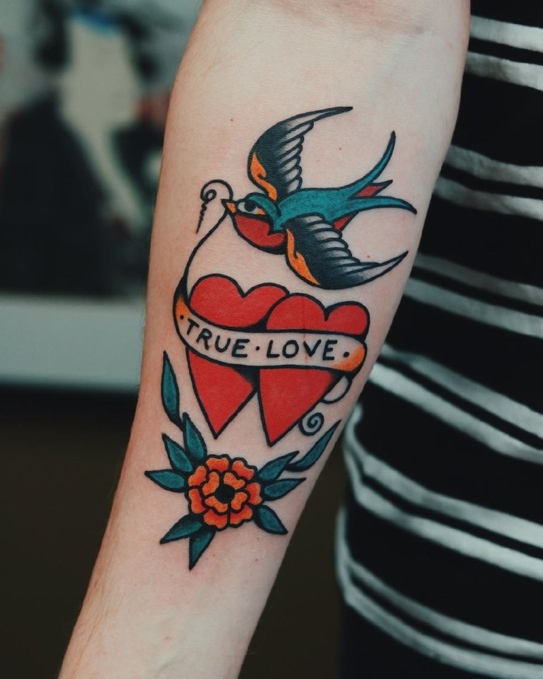 татуировки сердце